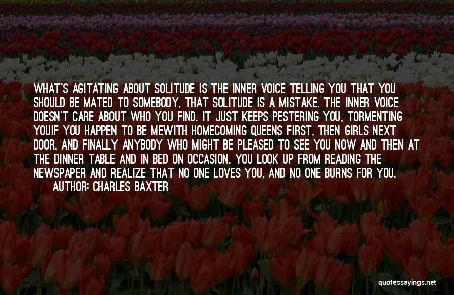 Burns Quotes By Charles Baxter