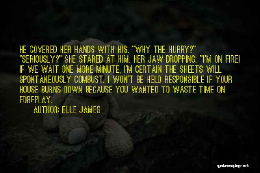 Burns Quotes By Elle James