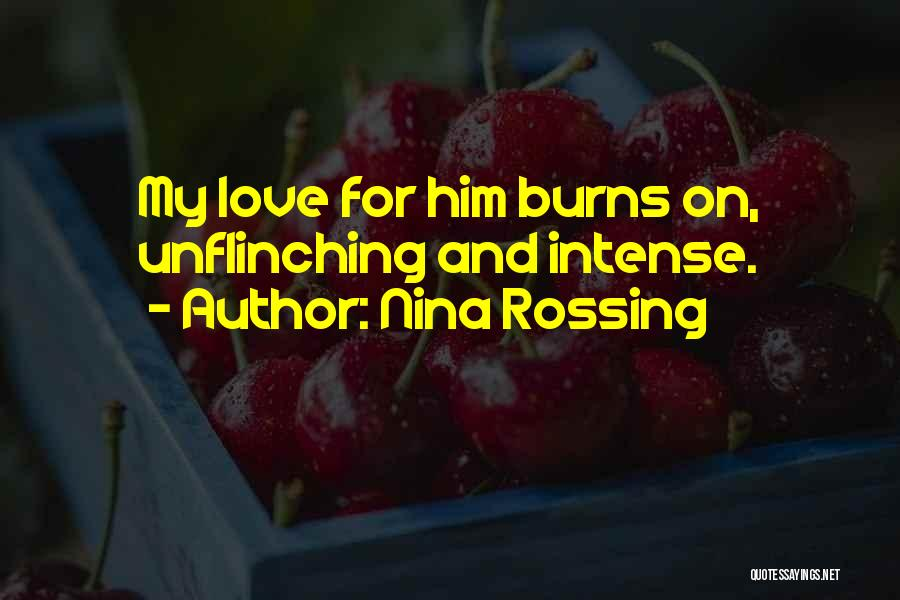 Burns Quotes By Nina Rossing