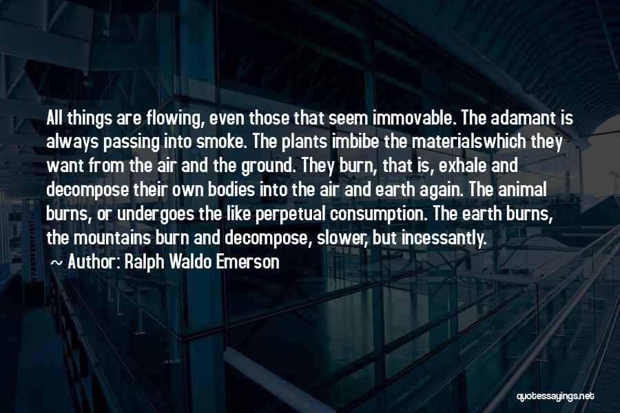 Burns Quotes By Ralph Waldo Emerson