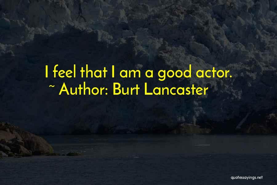 Burt Lancaster Quotes 1141140
