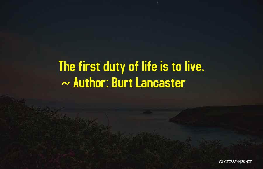 Burt Lancaster Quotes 1284916