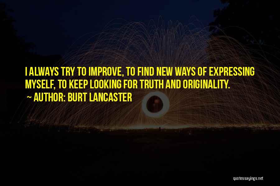Burt Lancaster Quotes 458228