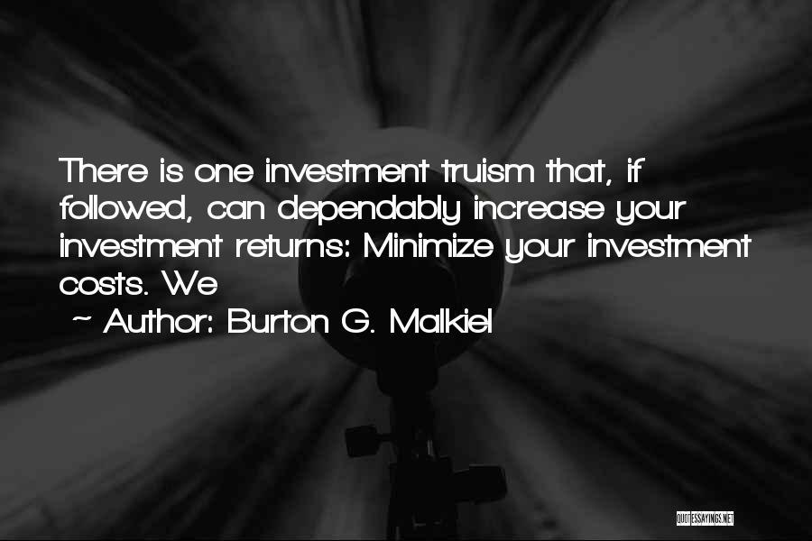 Burton G. Malkiel Quotes 869237