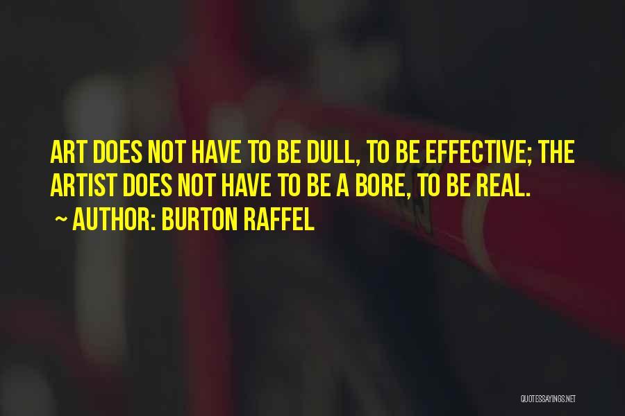 Burton Raffel Quotes 2069278