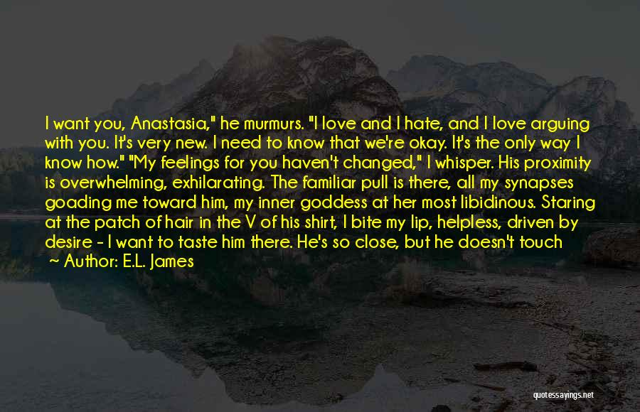 Bury Love Quotes By E.L. James