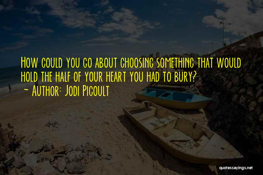 Bury Love Quotes By Jodi Picoult