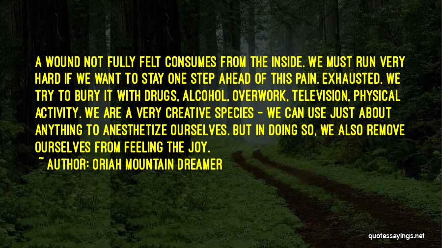 Bury Me A G Quotes By Oriah Mountain Dreamer