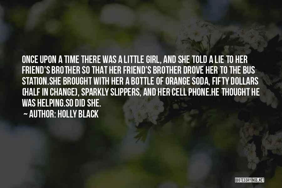 Bus Station Quotes By Holly Black