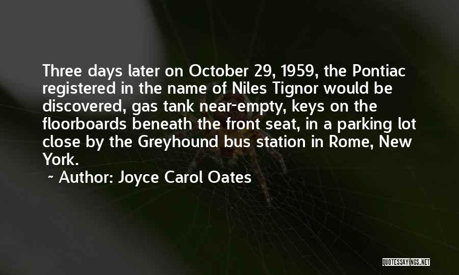 Bus Station Quotes By Joyce Carol Oates