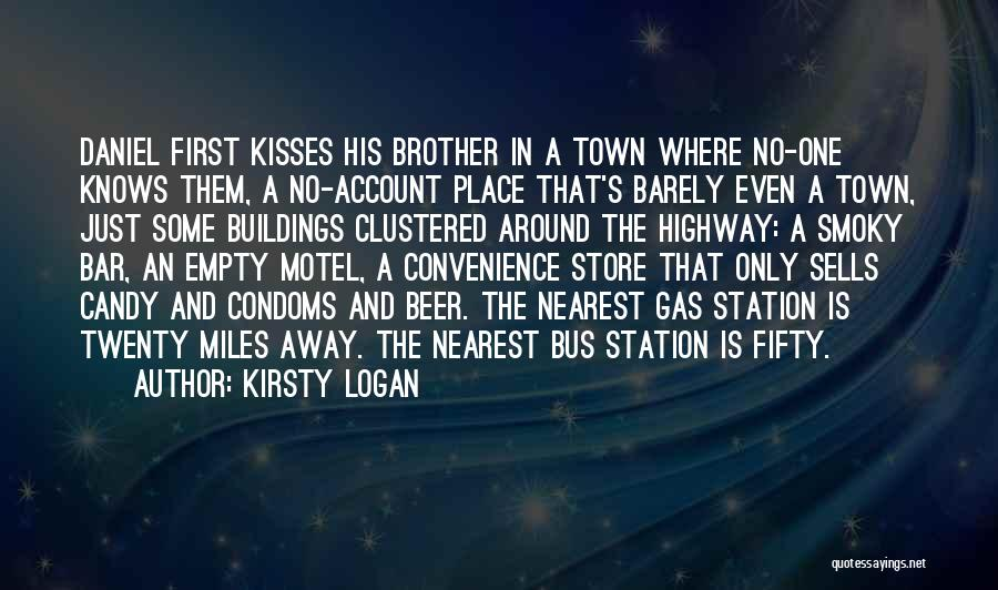 Bus Station Quotes By Kirsty Logan