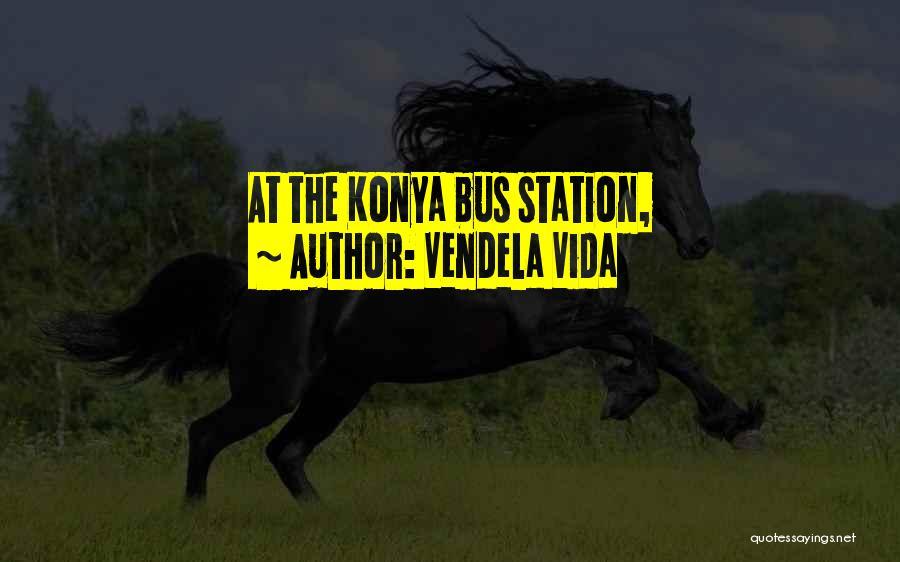Bus Station Quotes By Vendela Vida