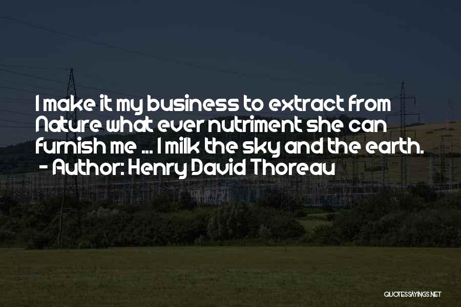 Business And It Quotes By Henry David Thoreau