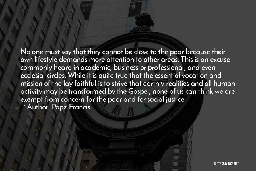 Business And It Quotes By Pope Francis