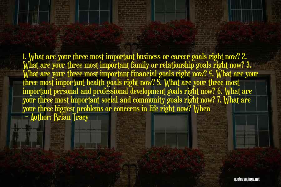 Business And Personal Life Quotes By Brian Tracy