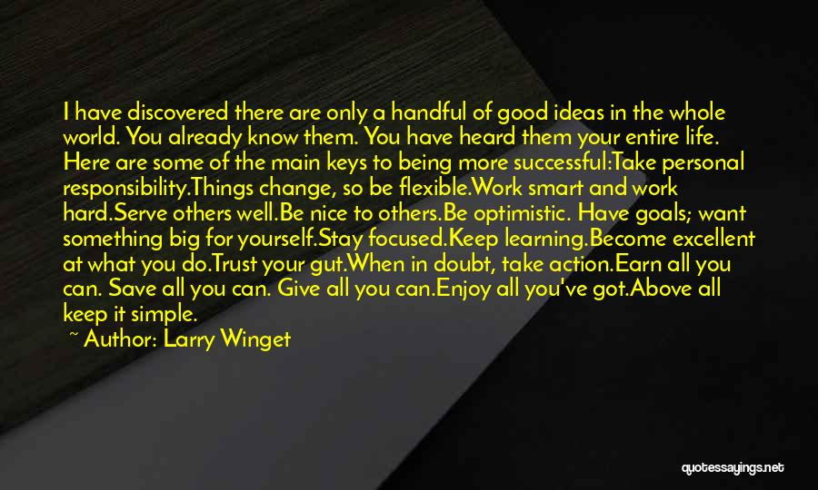 Business And Personal Life Quotes By Larry Winget