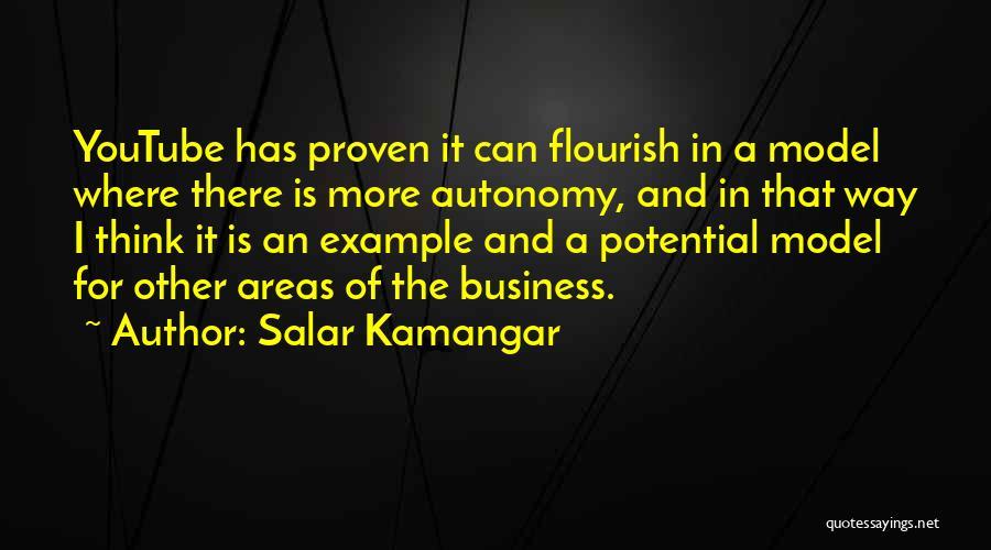 Business Autonomy Quotes By Salar Kamangar