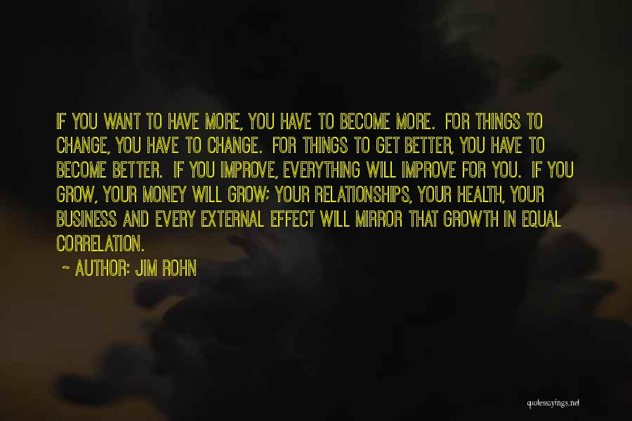 Business Growth Quotes By Jim Rohn