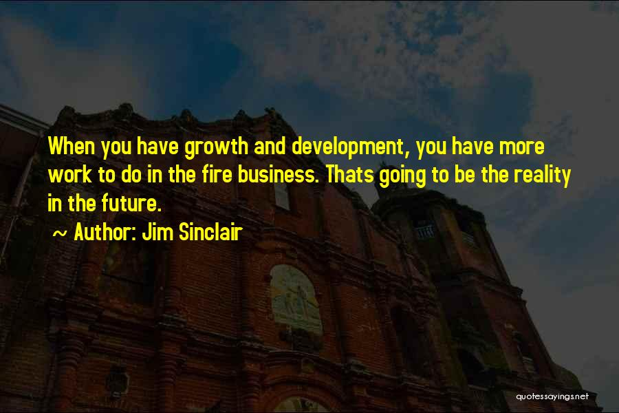 Business Growth Quotes By Jim Sinclair