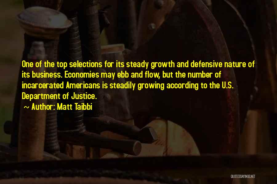 Business Growth Quotes By Matt Taibbi