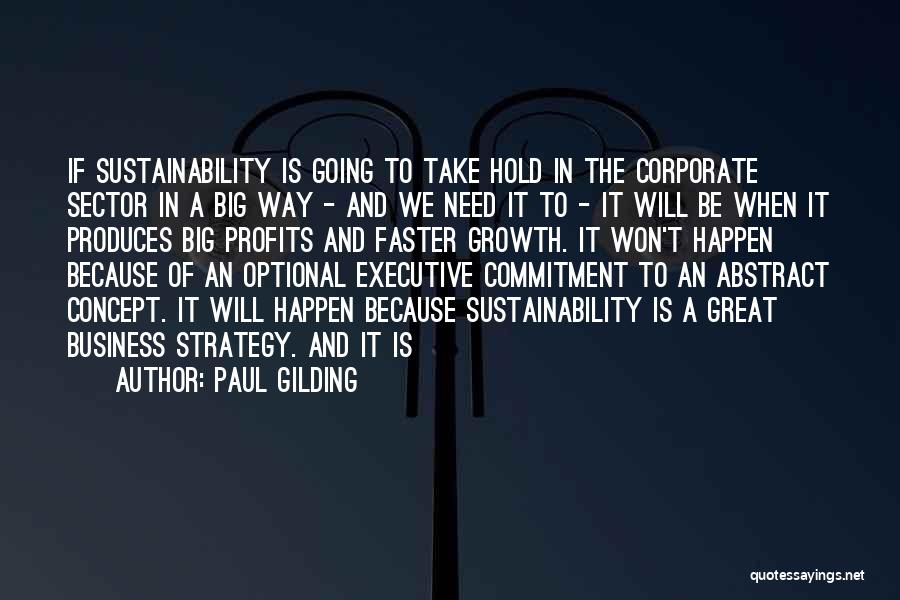 Business Growth Quotes By Paul Gilding