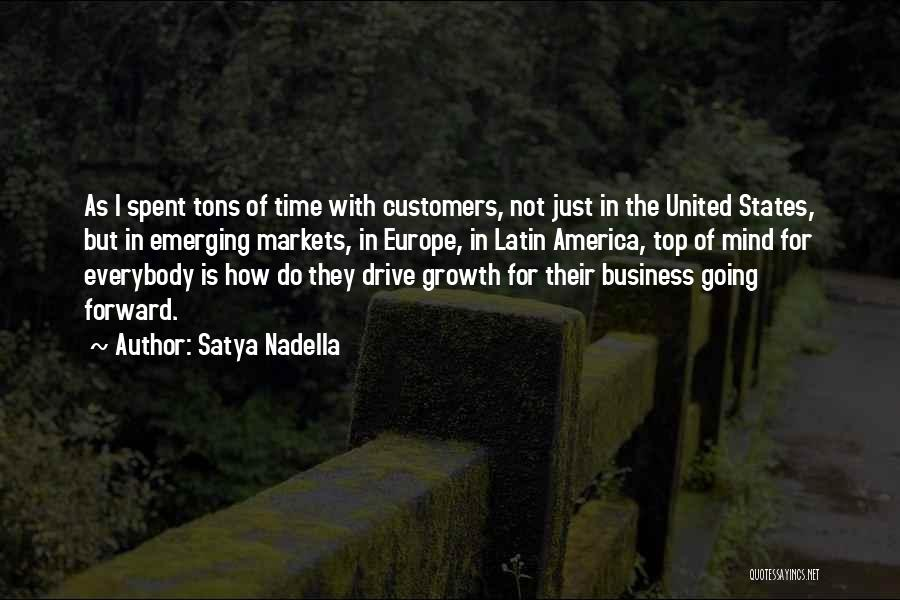 Business Growth Quotes By Satya Nadella