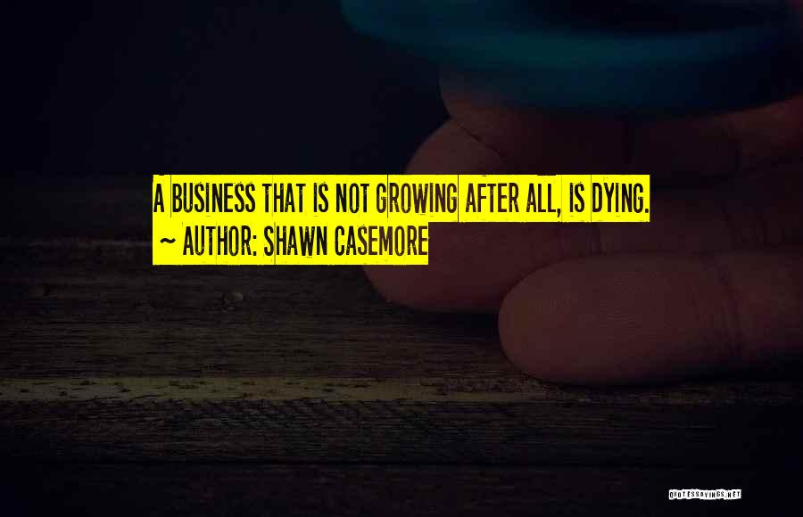 Business Growth Quotes By Shawn Casemore