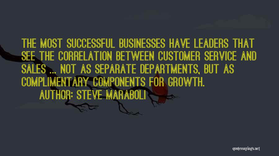 Business Growth Quotes By Steve Maraboli