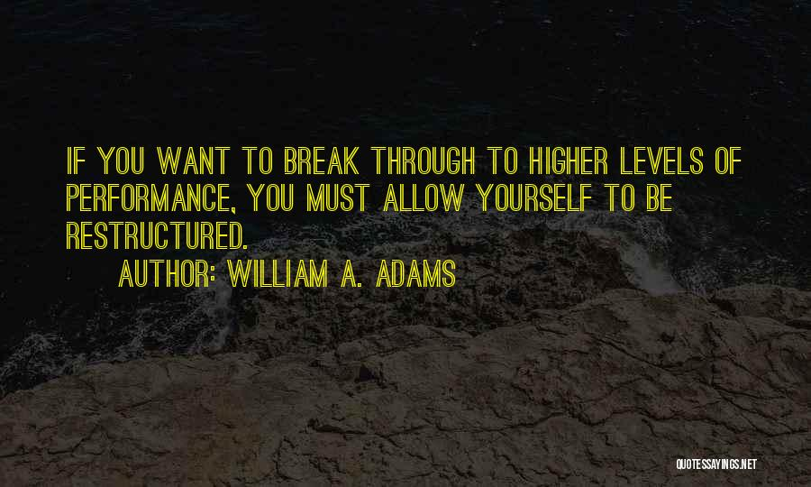 Business Growth Quotes By William A. Adams