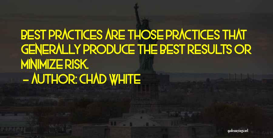 Business Results Quotes By Chad White