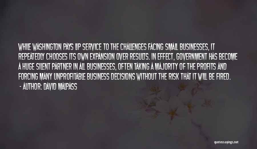 Business Results Quotes By David Malpass