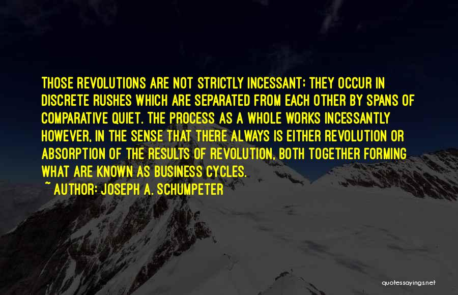 Business Results Quotes By Joseph A. Schumpeter