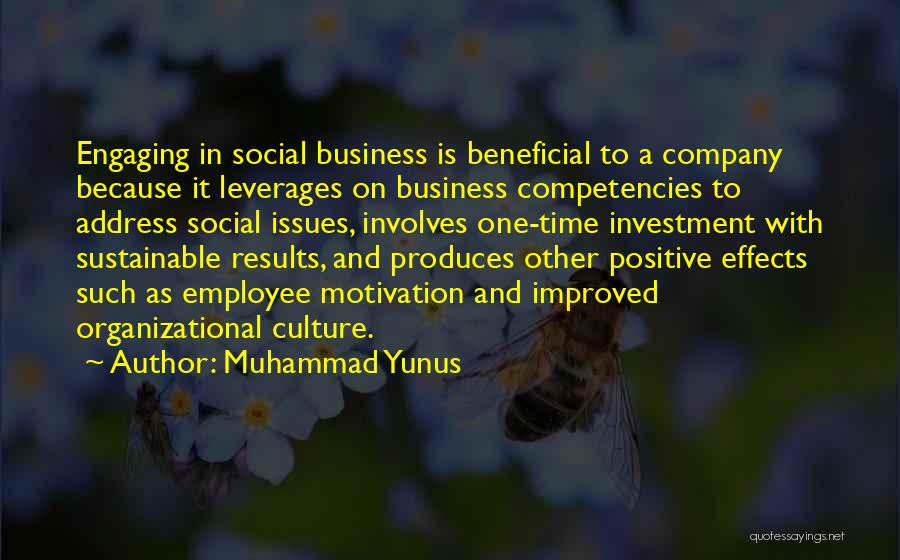 Business Results Quotes By Muhammad Yunus