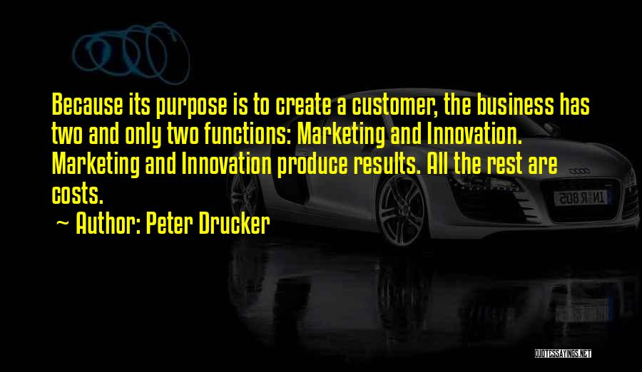 Business Results Quotes By Peter Drucker