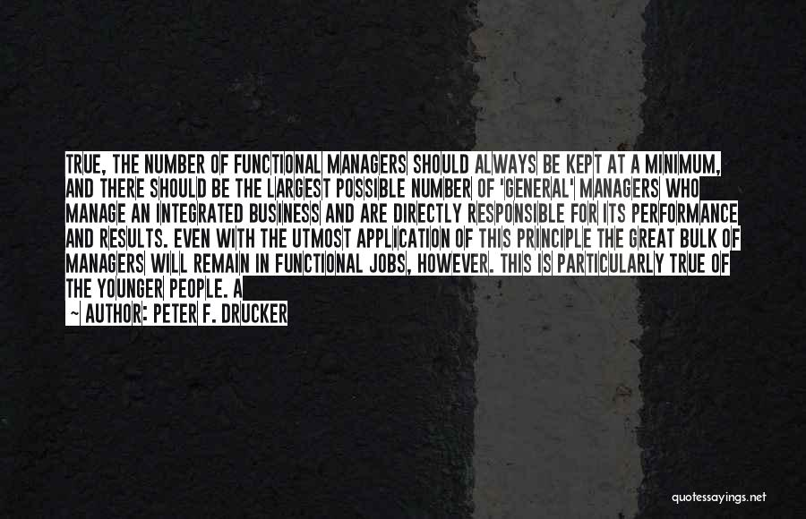 Business Results Quotes By Peter F. Drucker