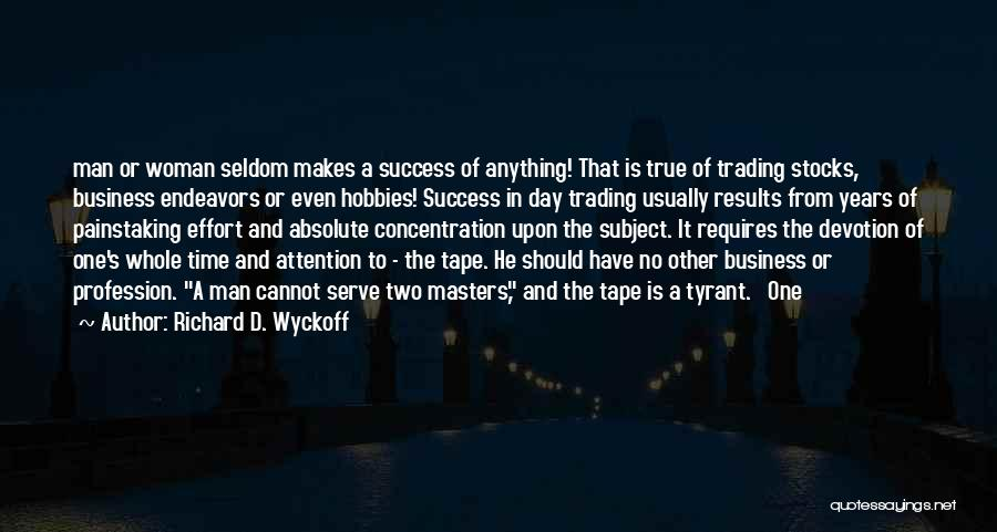 Business Results Quotes By Richard D. Wyckoff