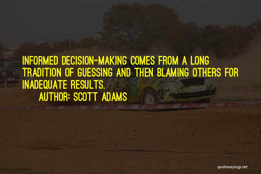 Business Results Quotes By Scott Adams