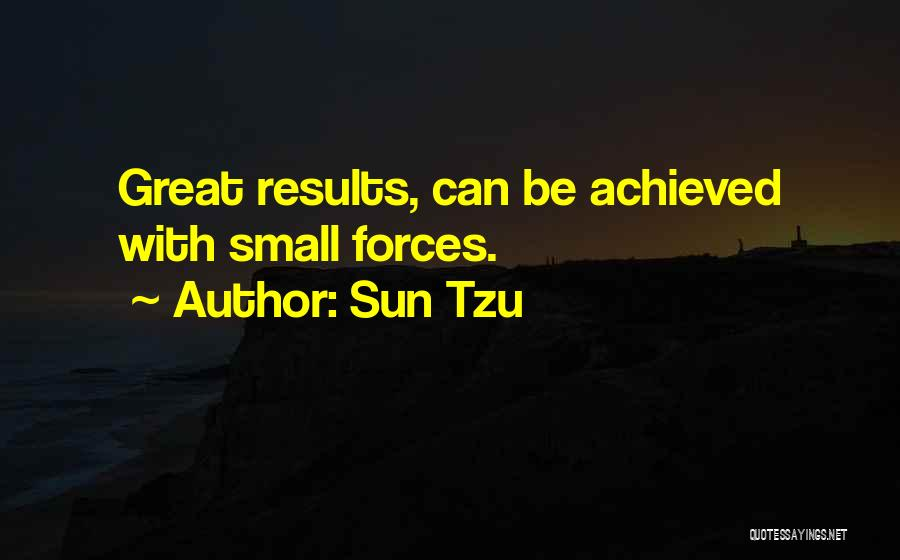 Business Results Quotes By Sun Tzu
