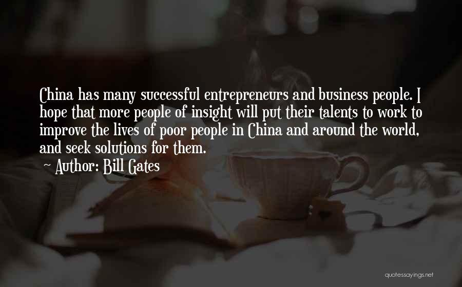 Business Solutions Quotes By Bill Gates