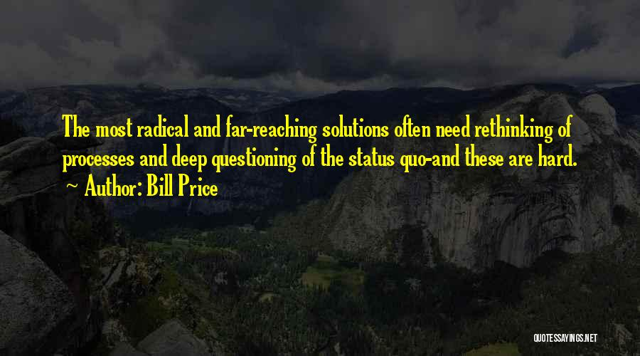 Business Solutions Quotes By Bill Price