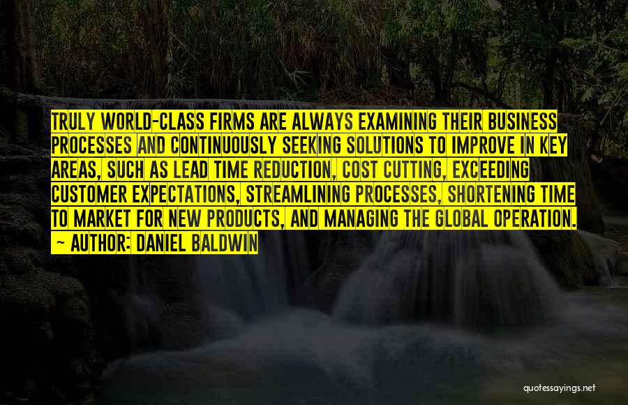 Business Solutions Quotes By Daniel Baldwin