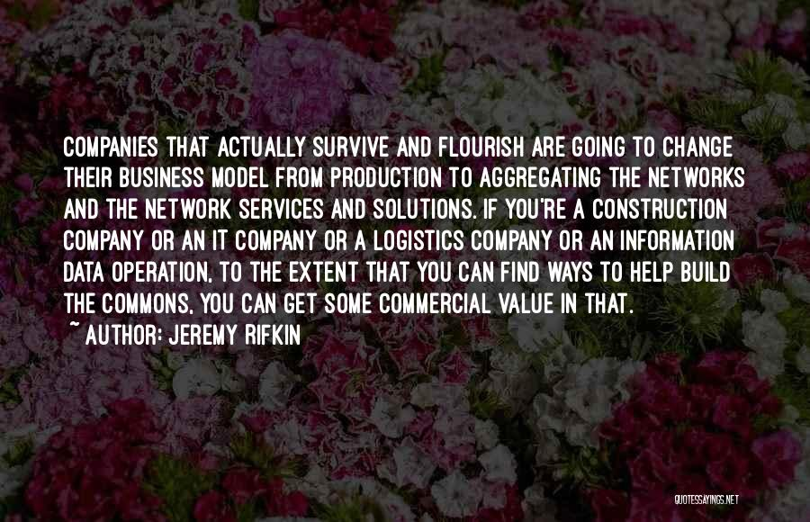 Business Solutions Quotes By Jeremy Rifkin