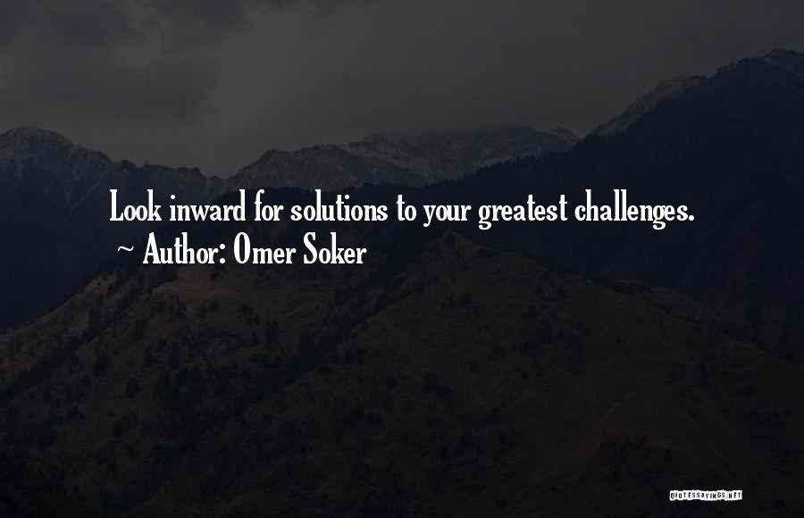 Business Solutions Quotes By Omer Soker