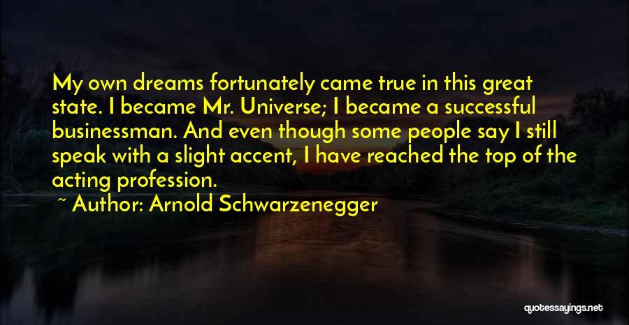 Businessman Quotes By Arnold Schwarzenegger