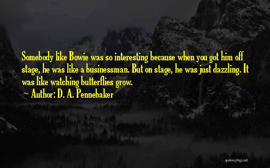Businessman Quotes By D. A. Pennebaker