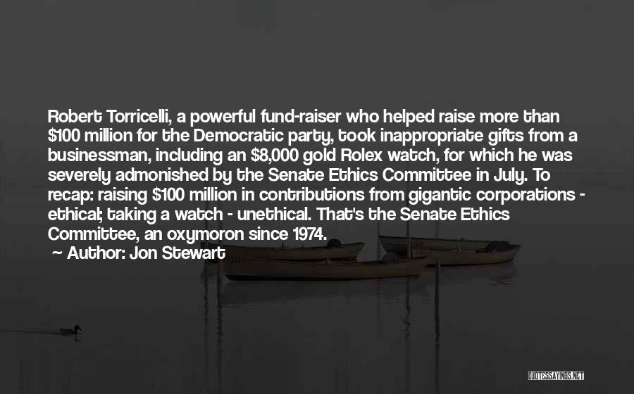 Businessman Quotes By Jon Stewart