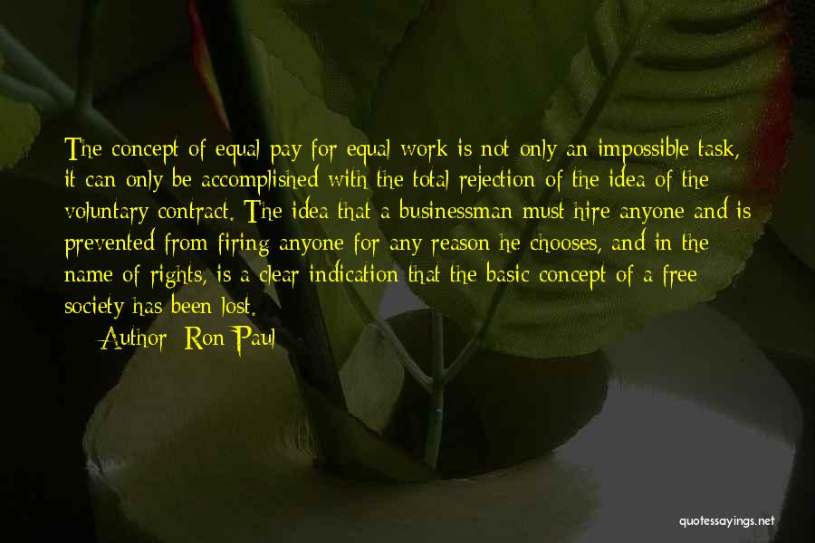 Businessman Quotes By Ron Paul