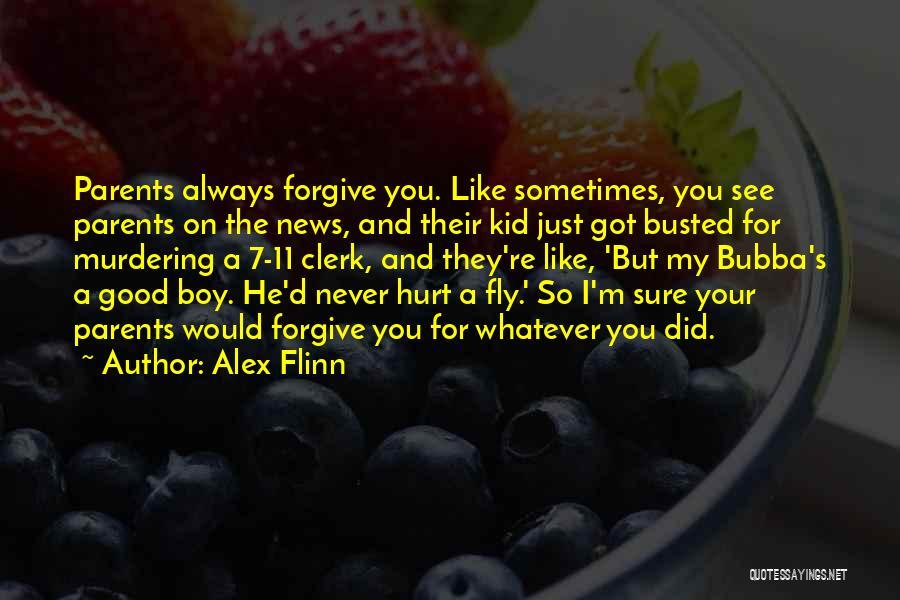 Busted Boy Quotes By Alex Flinn