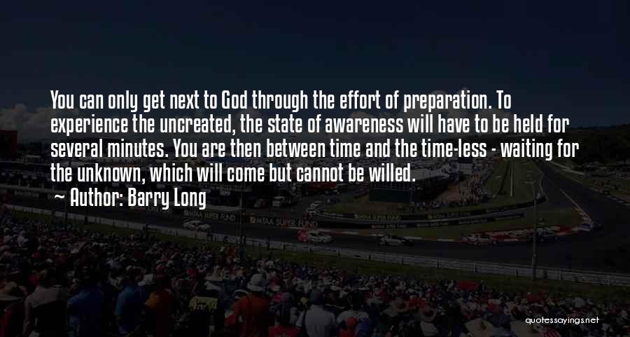 But God Quotes By Barry Long