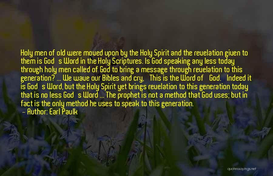 But God Quotes By Earl Paulk